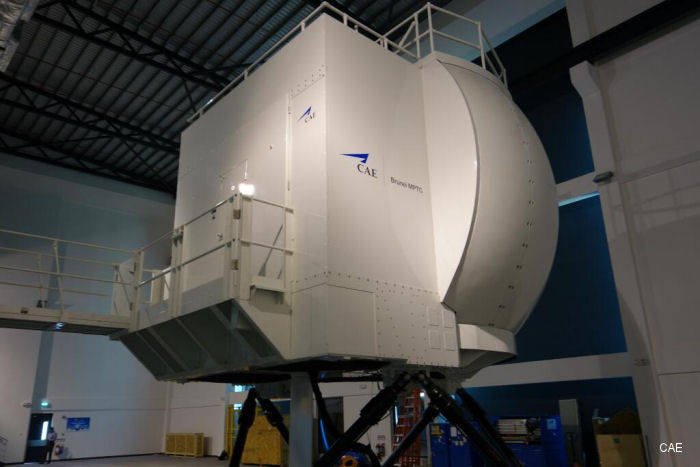 CAE 3000 Series S-92 full-flight simulator at CAE Brunei MPTC now ready-for-training