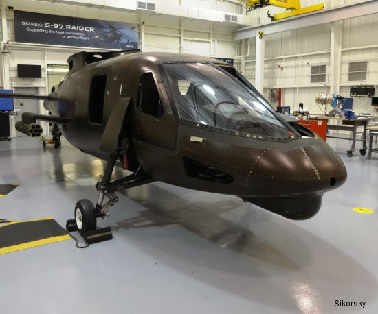 S-97 Raider Helicopter Powered On for First Time As Next-Gen Rotorcraft Moves Closer to First Flight
