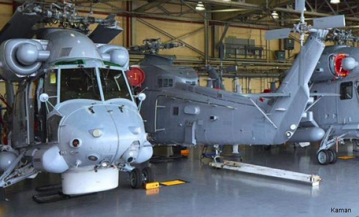 Kaman Announces Negotiations to Support the Upgrade of SH-2G Super Seasprite Aircraft for Peru