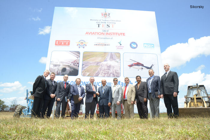 Sikorsky Aircraft Corp. to Explore Potential for Support of the Trinidad and Tobago Aviation Institute