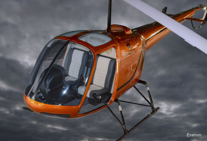 Enstrom unveil new trainer TH180