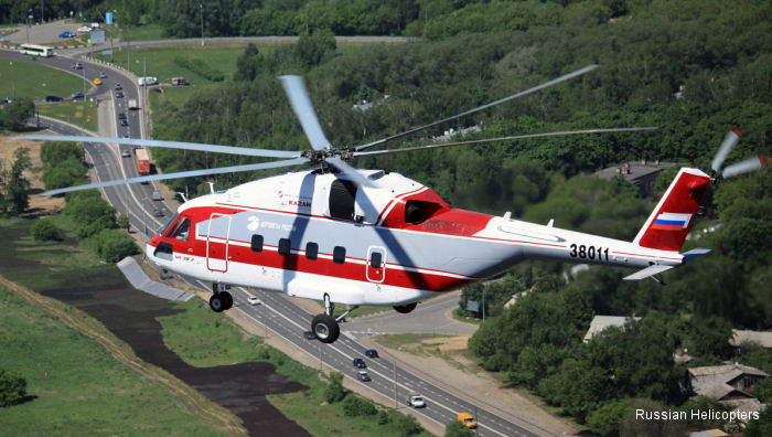 Russian Helicopters to showcase series-produced and new models of civilian helicopters in China