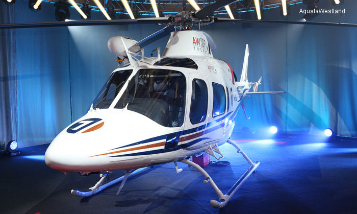 AgustaWestland announce a new addition to its range of class leading light twin-engine helicopters, the AW109 Trekker, their first light twin to offer skid landing gear.