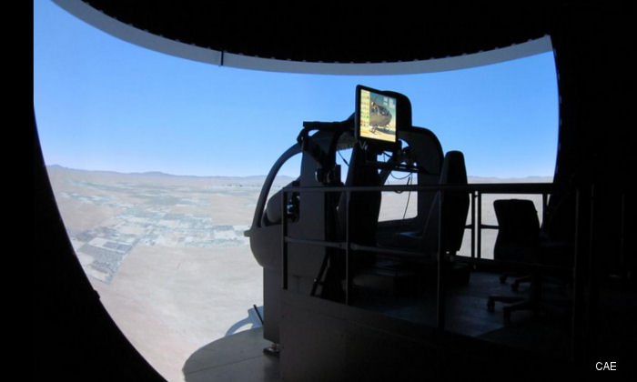 At I/ITSEC 2014 conference, CAE announced today that the US Army has accepted for training the first UH-72A Lakota helicopter flight training device (FTD) to be located at Ft Rucker, Alabama
