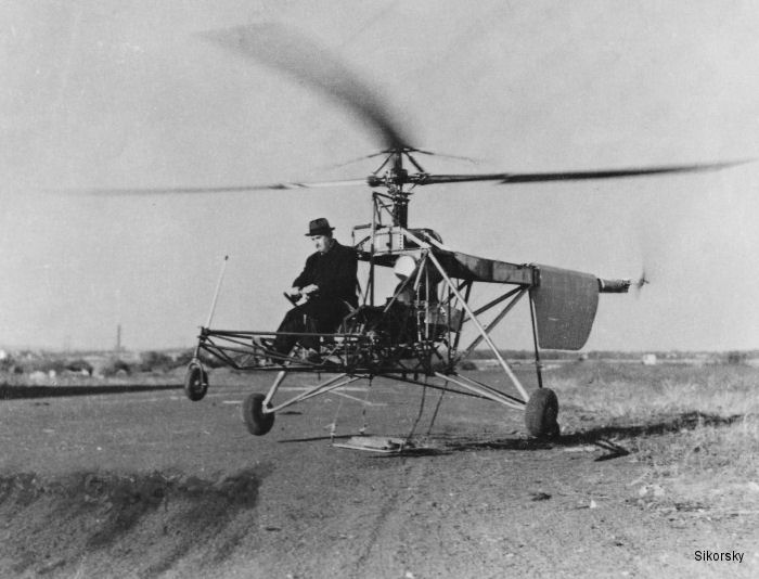 Igor Sikorsky VS-300 Helicopter Transformed Aviation 75 Years Ago