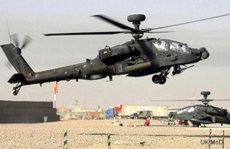 阿帕奇飛行50000小時在阿富汗的軍事行動