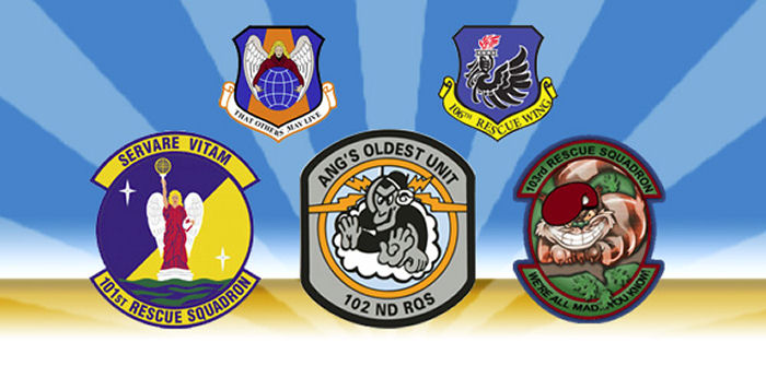 New York Air National Guard 106th Rescue Wing subunits