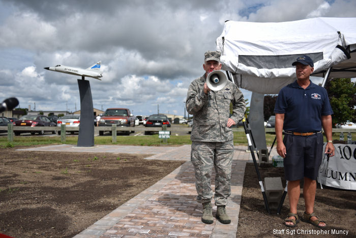A project ten years in the making that tells the story of the 106th Rescue Wing was completed on Sept. 12, 2015, as the 106 RQW Pride and Heritage Park was dedicated with a ribbon cutting.