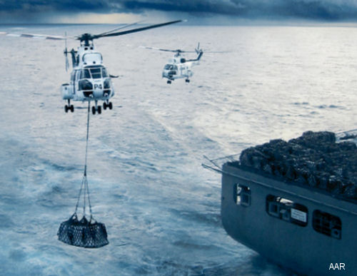 AAR Receives Extension for Navy Vertical Replenishment Contract
