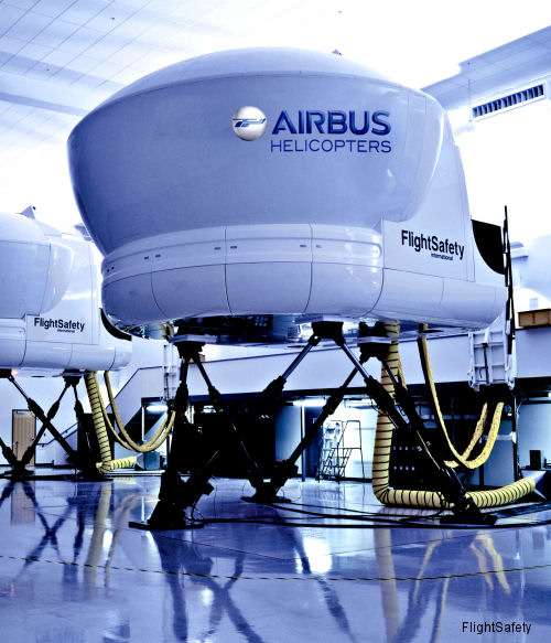 FlightSafety and Air Methods to provide flight simulators at a new Learning Center in Denver, Colorado from 2016 for single-engine Airbus AS350 B3, Airbus EC130T2, and Bell 407GX helicopters.