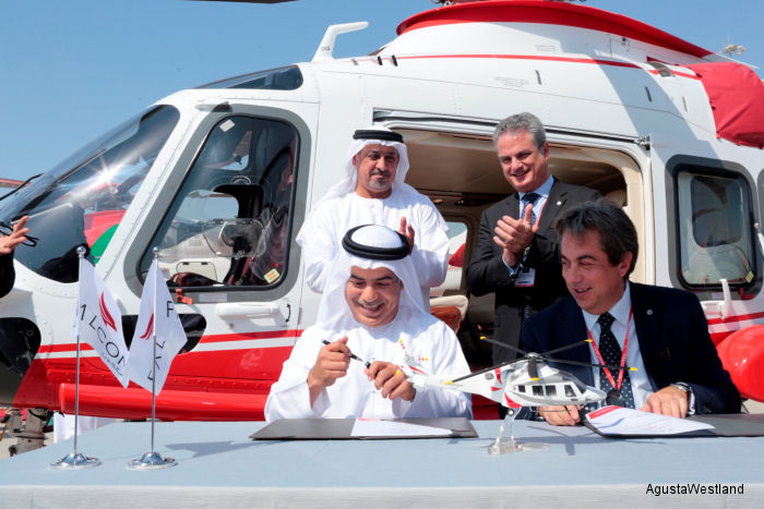 Falcon Aviation Services (FAS) of Abu Dhabi, United Arab Emirates will be the first operator in the Middle East to use the new AW169 for offshore oil and gas transportation services