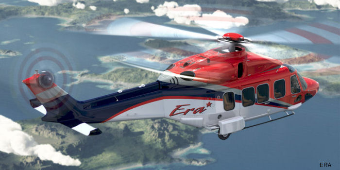 Era Group, a leading helicopter transport operator based in the United States, announced that it has taken delivery of its first two AgustaWestland AW189 heavy helicopters.
