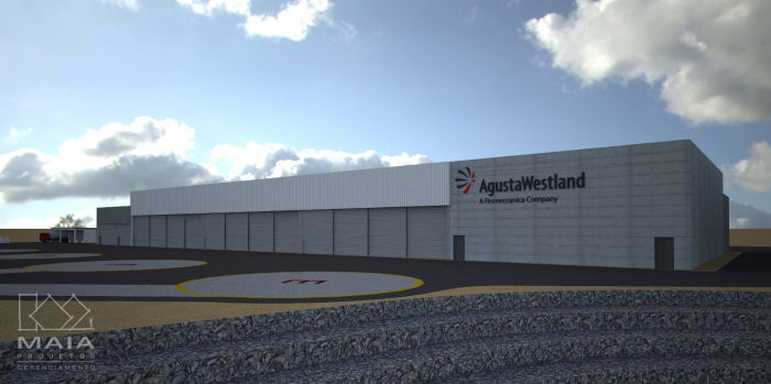 AgustaWestland New Plant In Brazil With The Support Of Investe SP