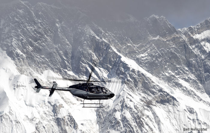 Bell Helicopter announced the successful demonstration tour of the new Bell 407GXP throughout Nepal demonstrating superior performance around Mount Everest