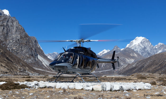 The Bell 407GXP Climbs to New Heights