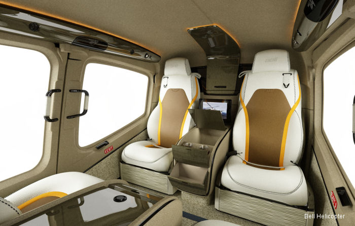 Installation Begins on the First Bell 429 with Mecaer Interior