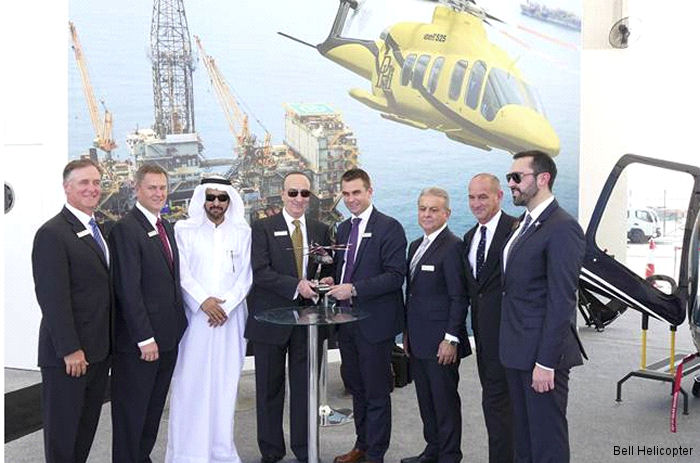 BGS Corporation, a Bell Helicopter independent representative in the United Arab Emirates, signs a letter of intent (LOI) for two Bell 525