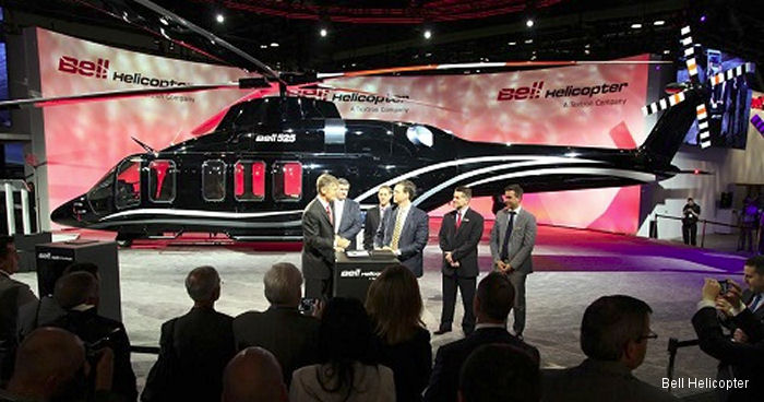 Bell Helicopter and Waypoint Leasing Ink Largest Agreement for Relentless Aircraft