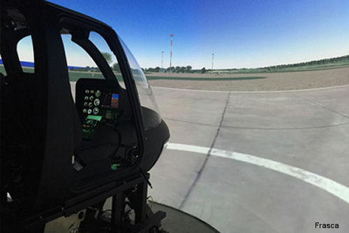 Bell 206 Frasca Flight Training Device with TruCue