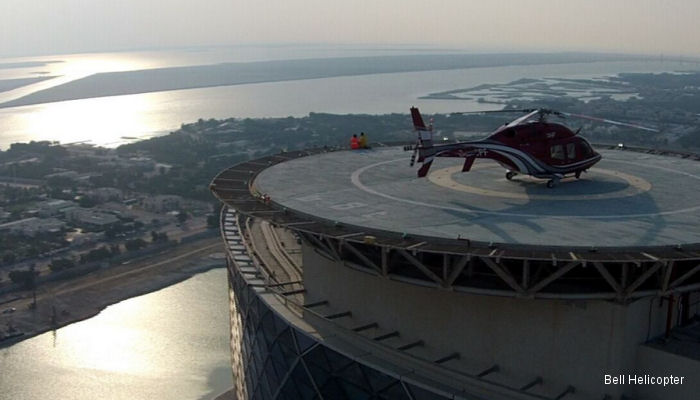 Bell Helicopter opened a new branch office in the Capital Gate Tower in Abu Dhabi, the new facility will serve as a regional hub with personnel in place to facilitate sales and marketing efforts.