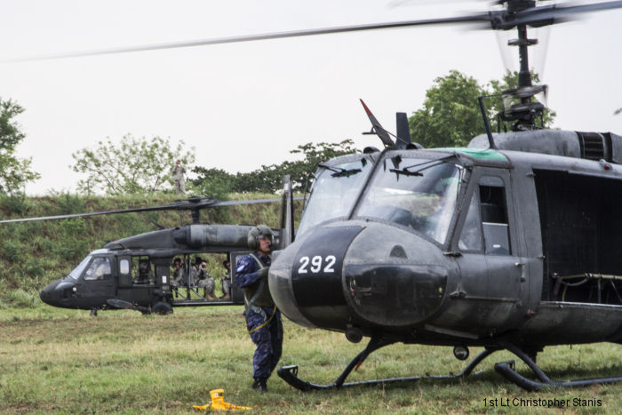 U.S. and Salvadoran helicopter pilots have partnered to enhance their casualty evacuation (CASEVAC) capabilities during the U.S. Army-led humanitarian exercise Beyond the Horizon 2015.