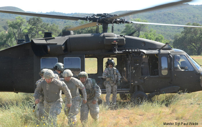 1st Squadron, 18th Cavalry, California Army National Guard performed   medical evacuation flights with 3-140 AVN Black Hawks at Fort Hunter Liggett during their annual training.