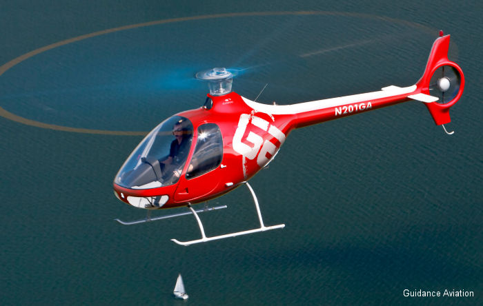 Guidance Aviation Purchases Company First Guimbal Cabri G2 Helicopter