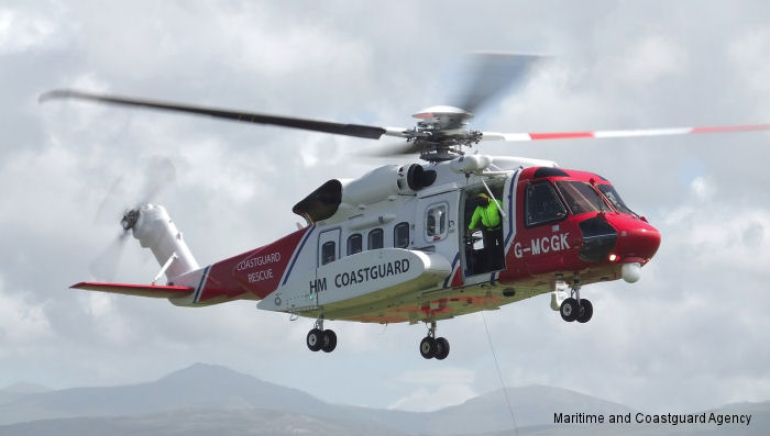 UK Coastguard Caernarfon base, the third Bristow civilian search and rescue base to go live, has completed 100 taskings in just two months with their two Sikorsky S-92 helicopters.