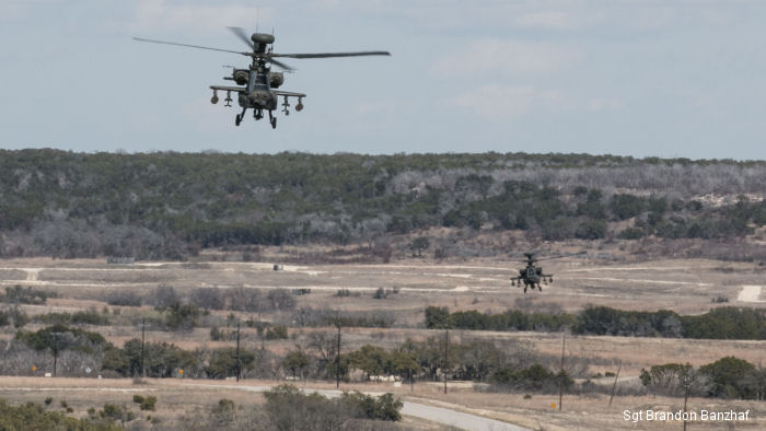 Attack helicopters, tanks, infantry and artillery performed with each other during 3rd Armored Brigade Combat Team, 1st Cavalry Division combined live-fire exercise Feb.18 at Fort Hood, Texas