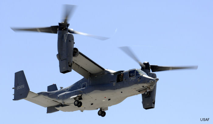 CV-22 Osprey Squadron Headed for Japan