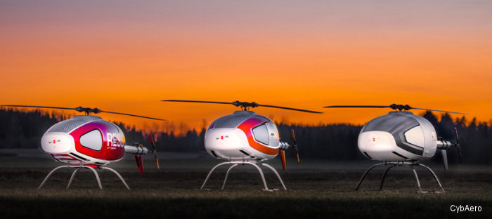 CybAero Postpones Delivery Of Three Unmanned Helicopter Systems To China