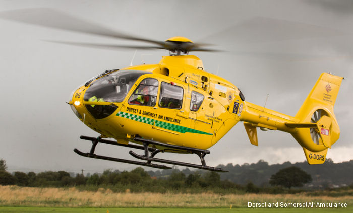 Fifteen years of Dorset and Somerset Air Ambulance first mission