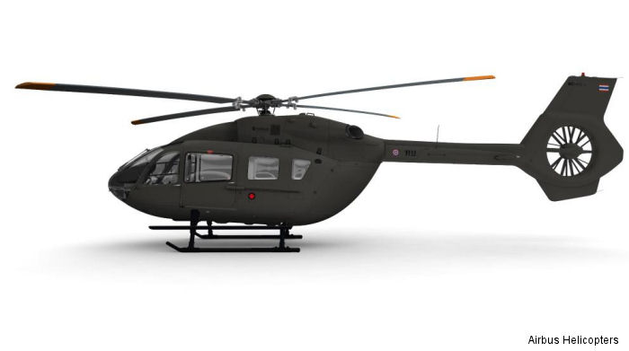 Royal Thai Army signed for six VIP EC145T2 under the Light Utility Helicopter Type II requirement for official passenger transport duties with deliveries scheduled to begin in 2016