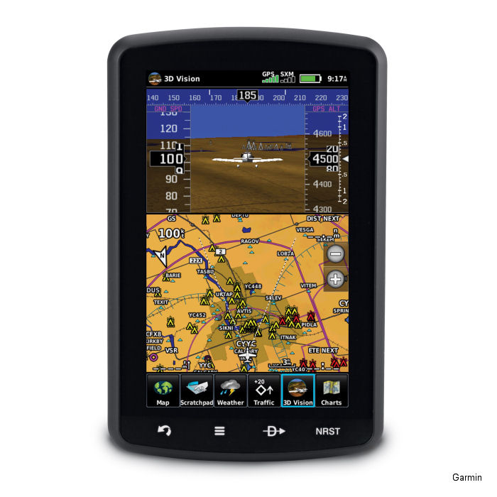Garmin comprehensive obstacle database now include Canada for select Garmin portables and certified avionics.
