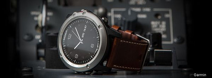 Garmin Introduces Stylish Aviator Watch With Sophisticated Aviation Features