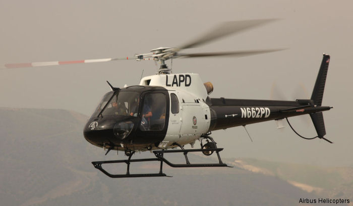 California Highway Patrol (CHP) and the Los Angeles Police Department (LAPD) have taken delivery of new Airbus Helicopters H125 (AS350B3e) as part of their multi-year fleet replacement plans