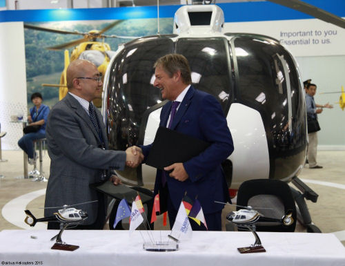 MIT Group HEMS999 provides China first highway accident helicopter rescue services with purchase of seven H130s