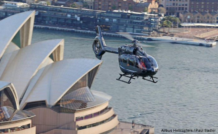 The H145 completes successful Australian Demonstration Tour