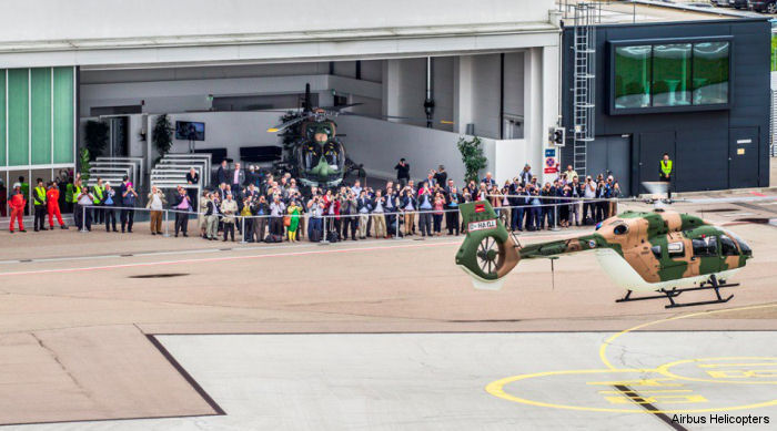 Airbus Helicopters delivers the first two H145M to the German Armed Forces