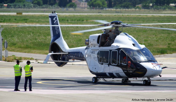 Airbus Helicopters unveiled the H160 prototype in the presence of French Prime Minister Manuel Valls