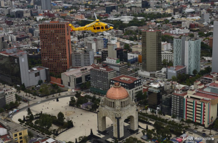 Followin Heli-Expo, the H175 has embarked upon a three-month demo-tour in Mexico, the United States and Brazil for oil, gas and private customers