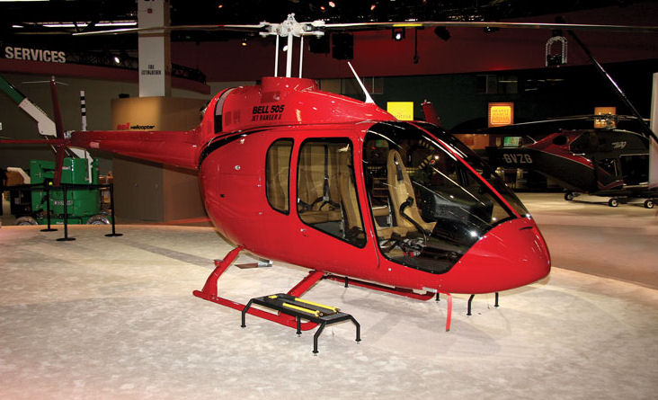 Bell Helicopter Will Present the Newcomer Bell 505 at HeliRussia 2015
