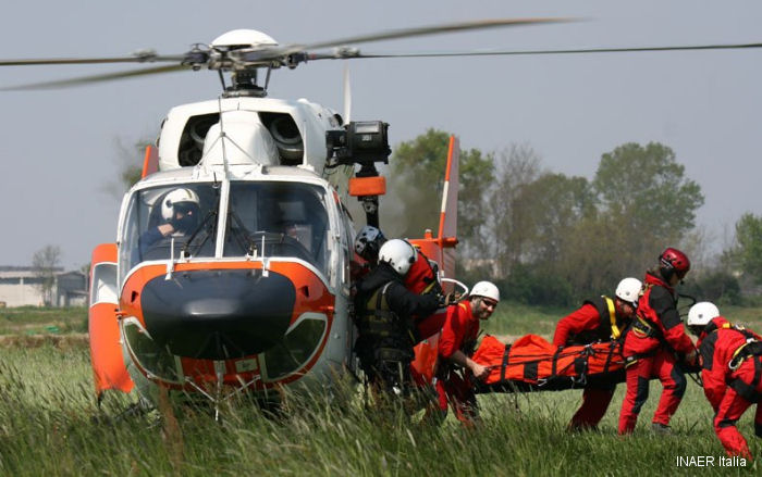 INAER Italy, leader in helicopter rescue at HEMS Congress 2015