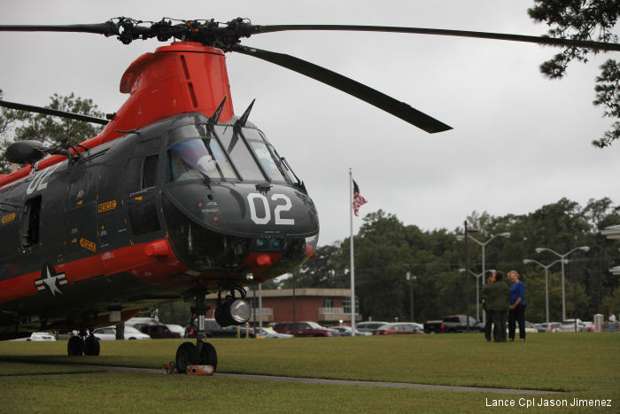 MCAS Cherry Point Conducts Final H-46 Flight
