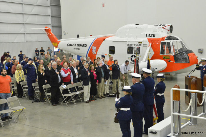 The U.S. Coast Guard will at last be represented in the Smithsonian Air and Space Collection