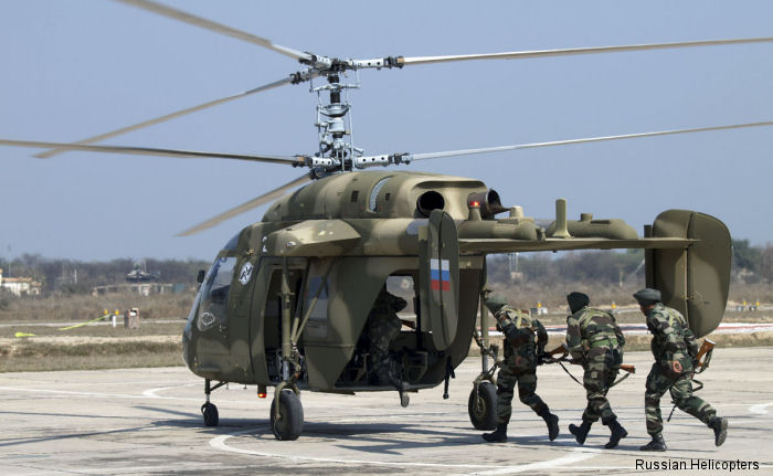India chooses Russian Helicopters Ka-226T