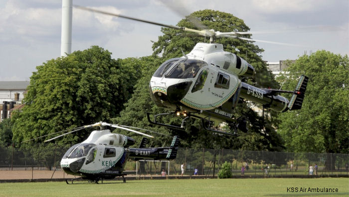 Kent, Surrey & Sussex Air Ambulance are celebrating over 25 years of life-saving Helicopter Emergency Medical Service (HEMS).