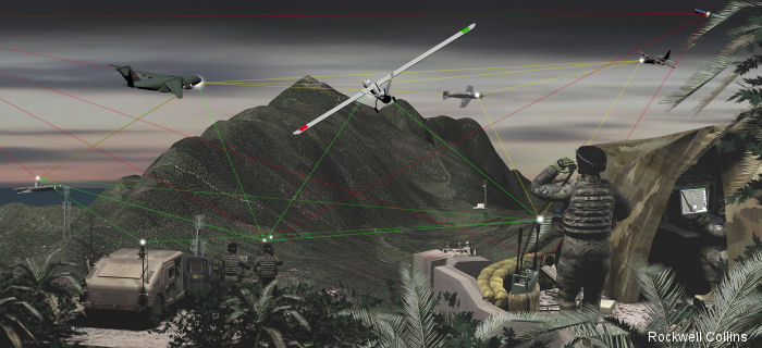 Rockwell Collins to introduce new TruNet network communications solution at 2015 LAAD Defence and Security Exhibition