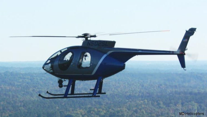Minnesota Department Of Natural Resources To Add New MD 500E To Division Of Enforcement Aviation Unit