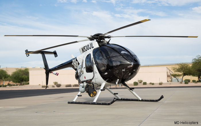 Fresno County Sheriff Office Orders New MD 530F For Air Support Unit